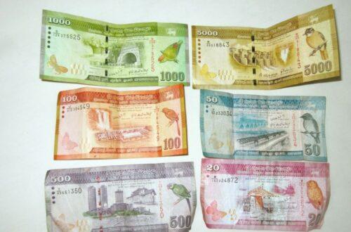 Billetes de Sri Lanka