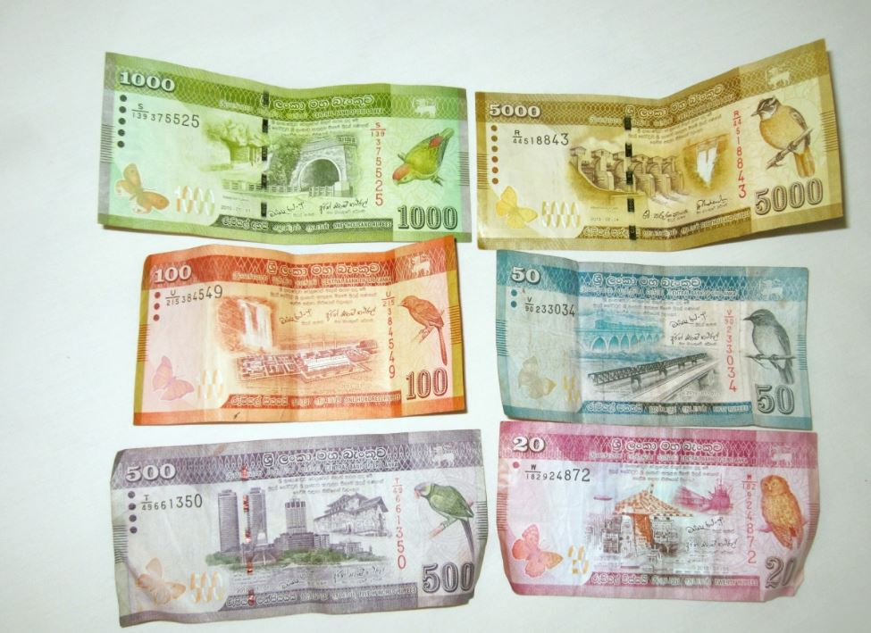 Billetes de Sri Lanka