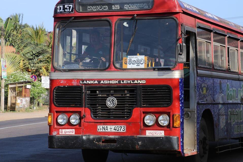Cómo moverse por Sri Lanka en autobús