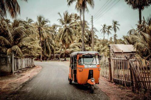 Cómo moverse por Sri Lanka en tuk tuk