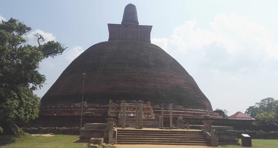 Estupa Jetavanarama de Sri Lanka
