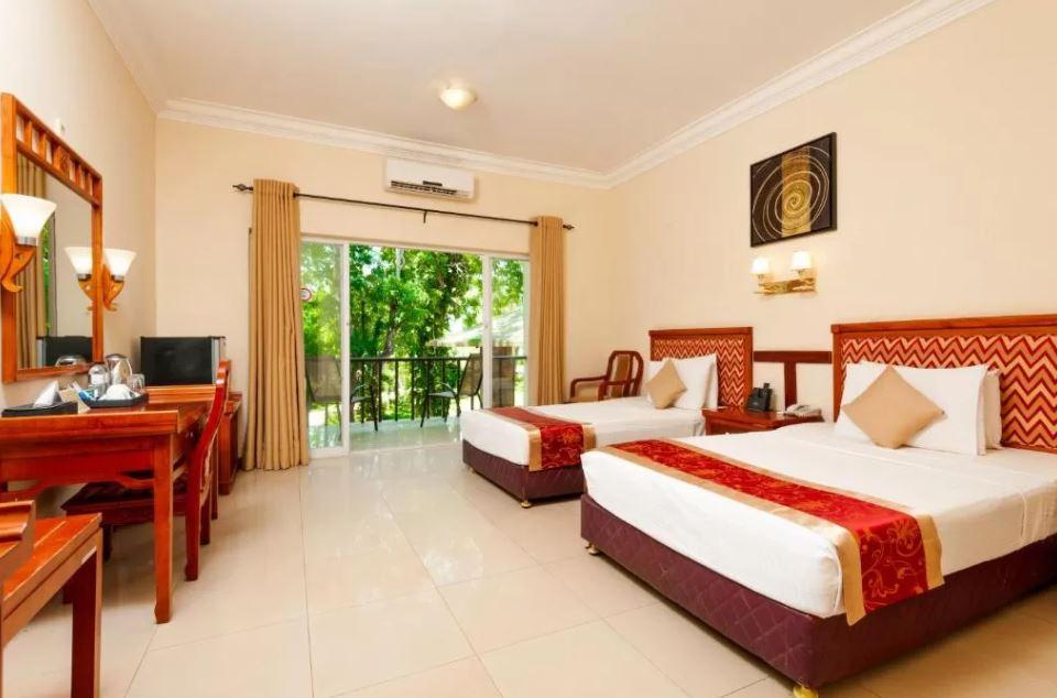 Habitación doble en el Hotel Heritage de Anuradhapura